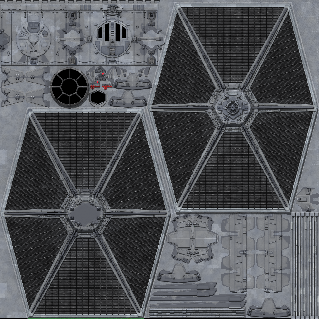 Starwars Dark Forces Inspired Game Art Polycount